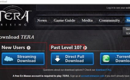 Tera Online Register