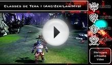 Archer, Berzercher, Lancer e Mystic ~ As Classes de Tera