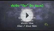 European Portuguese Lessons - Verbo ter (to have)