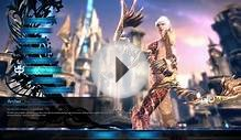 Tera Online Gameplay Character Creation Races and Classes